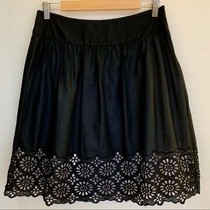 MICHAEL KORS Eyelet Skirt
